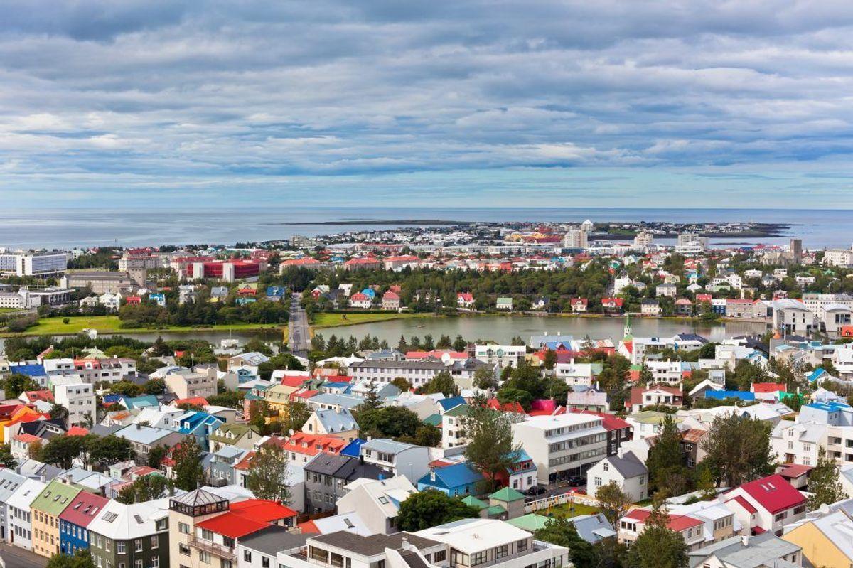 Femtepladsen: Reykjavik Keflavik (33 procent forsinkede fly) Kilde: Flypenge.dk. Arkivfoto.