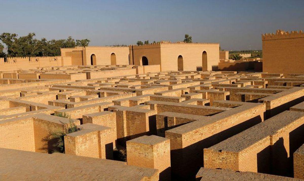 I 35 år har Irak forsøgt at få den historiske by Babylon på listen. Nu er det lykkedes. Foto: Scanpix