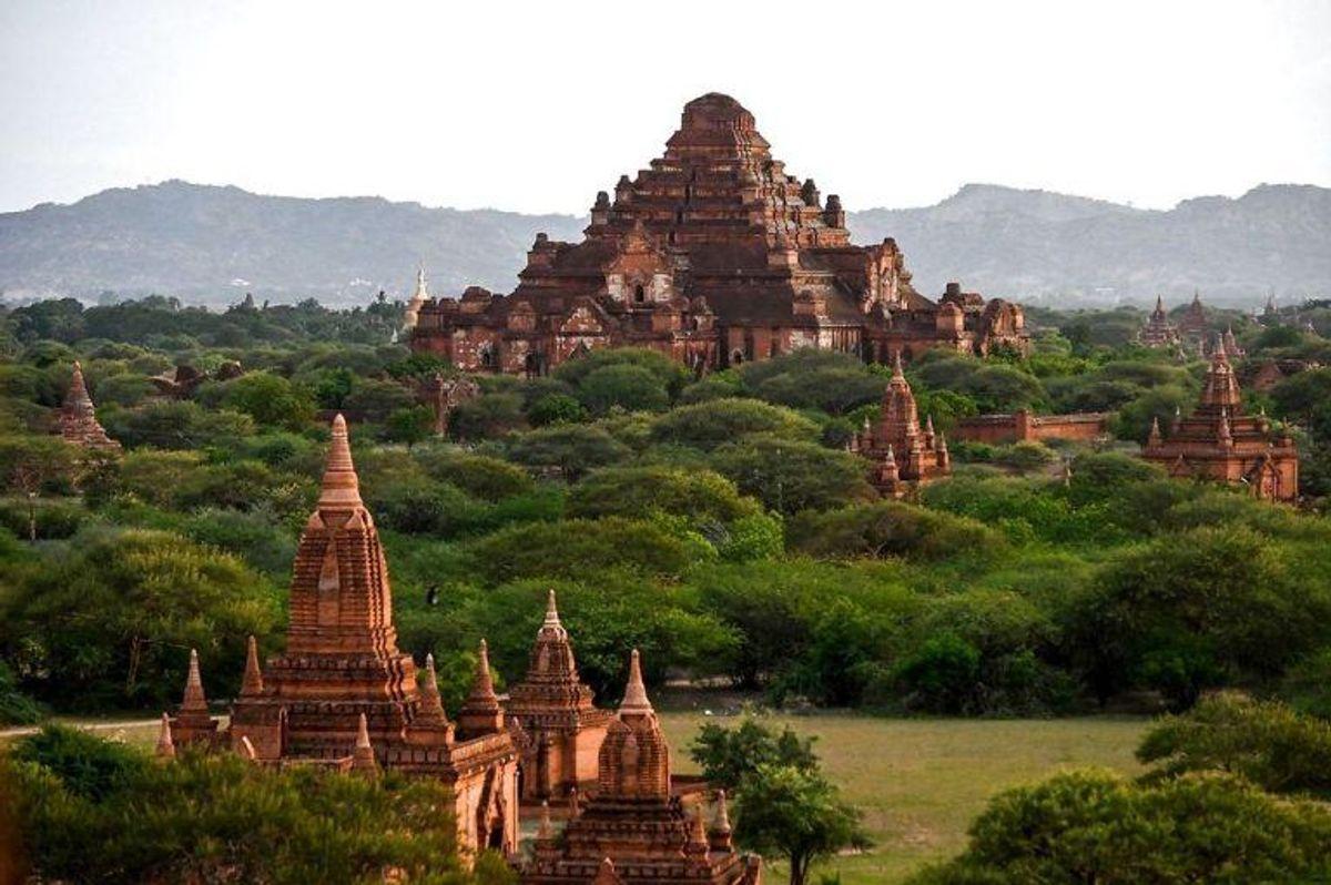 Bagan har over 3000 templer. Nu er byen i Myanmar på verdensarvslisten. KLIK VIDERE OG SE FLERE STEDER. Foto: Scanpix