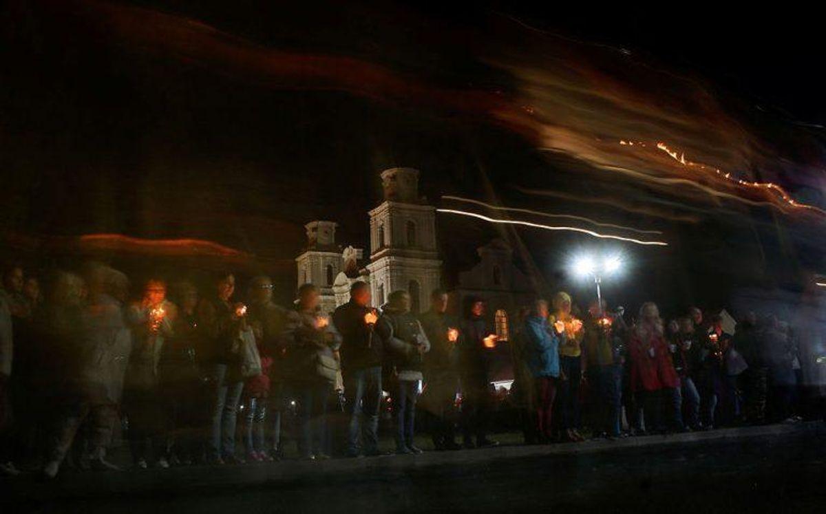 Den årlige Budslav fest for kristne har givet byen Budslav status af verdensarv. Foto: Scanpix