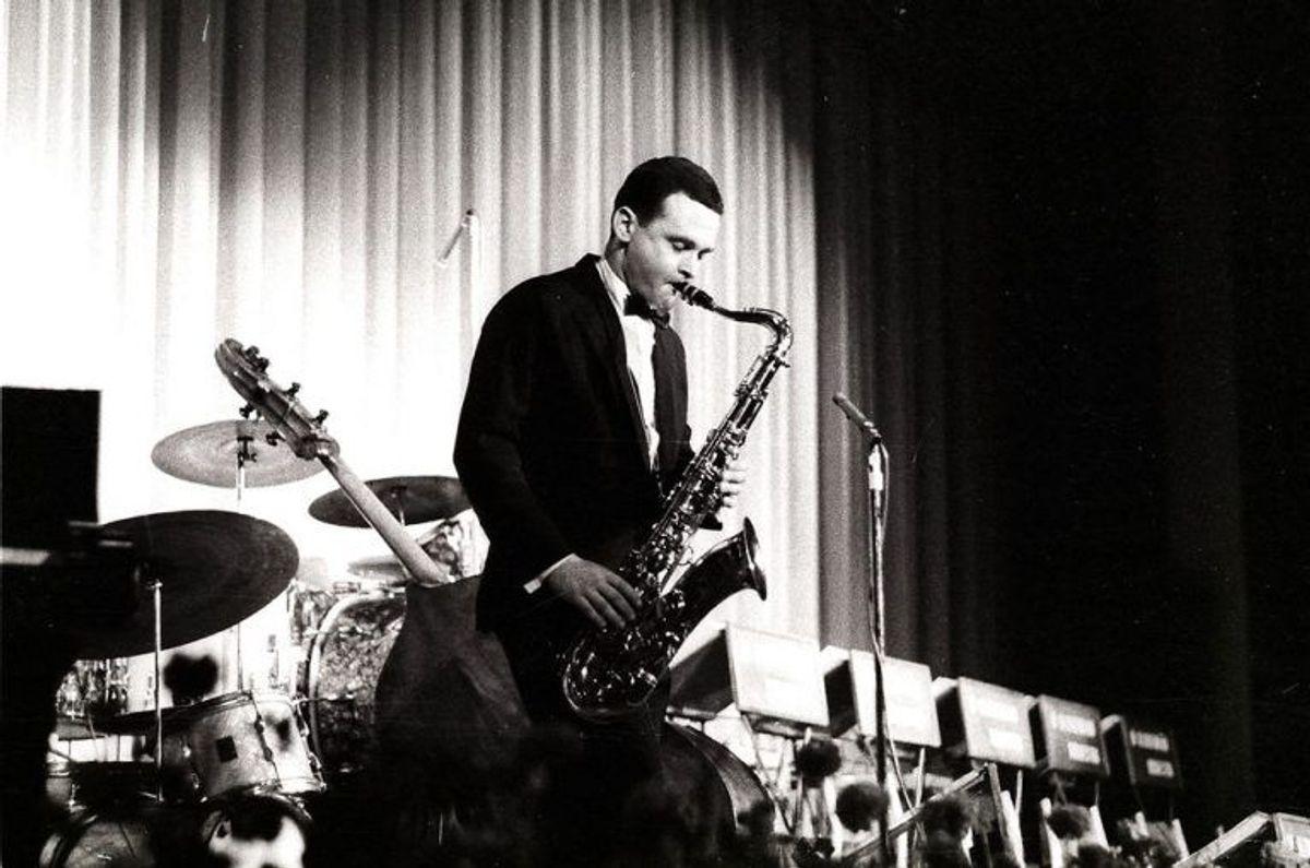 Stan Getz har tidligere optrådt i K.B. Hallen. Det var med Stan Getz at João Gilberto fik sit internationale gennembrud. Foto: Scanpix