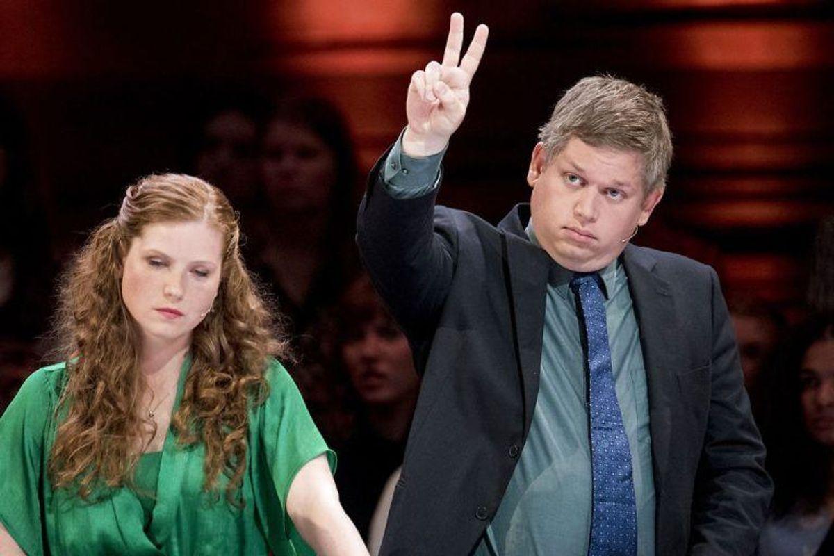 Rasmus Paludan er torsdag blevet dømt for racisme. Foto: Scanpix