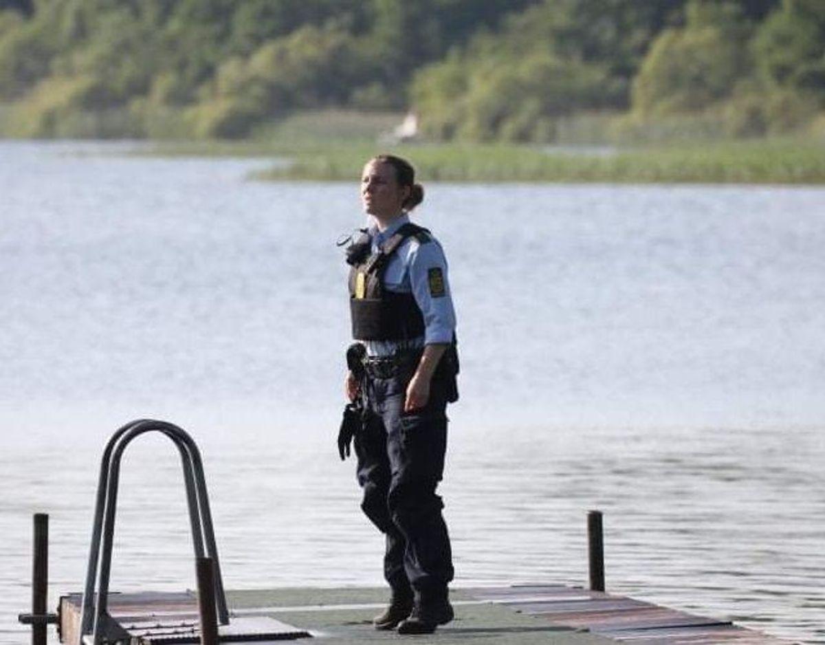 Politi og redning blev tilkaldt tirsdag. Foto: Presse-fotos.dk