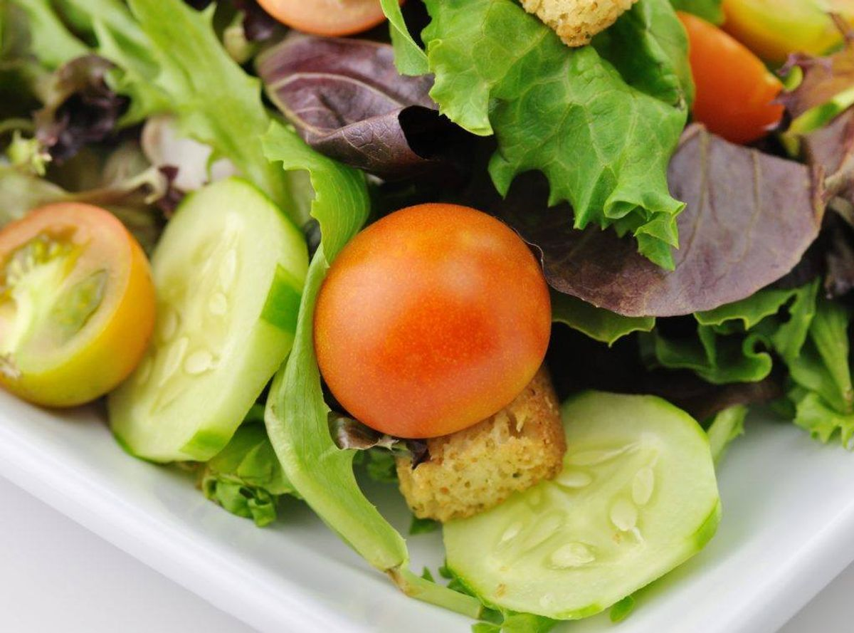 I denne omgang er det dog salatbaren, der er problemet. Foto: Colourbox.
