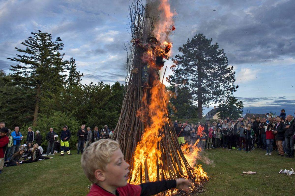 2012: En kølig aften med spredte byger. (Foto: Jens Nørgaard Larsen/Ritzau Scanpix)