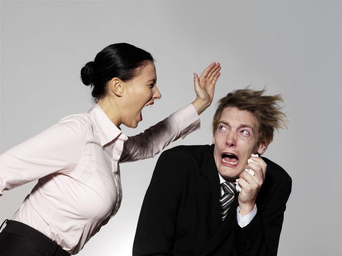 Seks procent mener, at truende adfærd er årsagen. Foto: Colourbox.