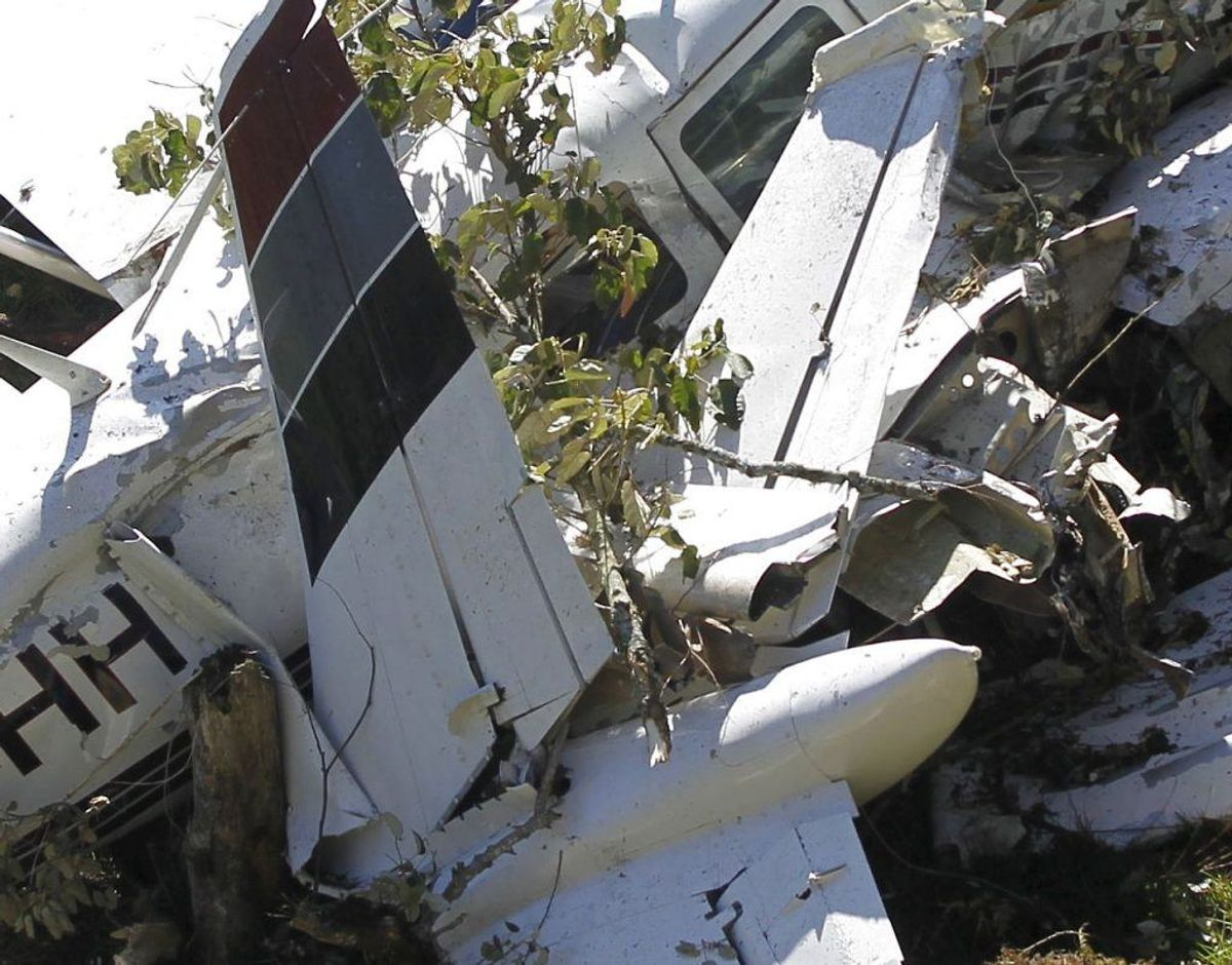 To danskere blev søndag dræbt i et flystyrt. KLIK for mere info. Arkivfoto: Fredy Builes/Scanpix.