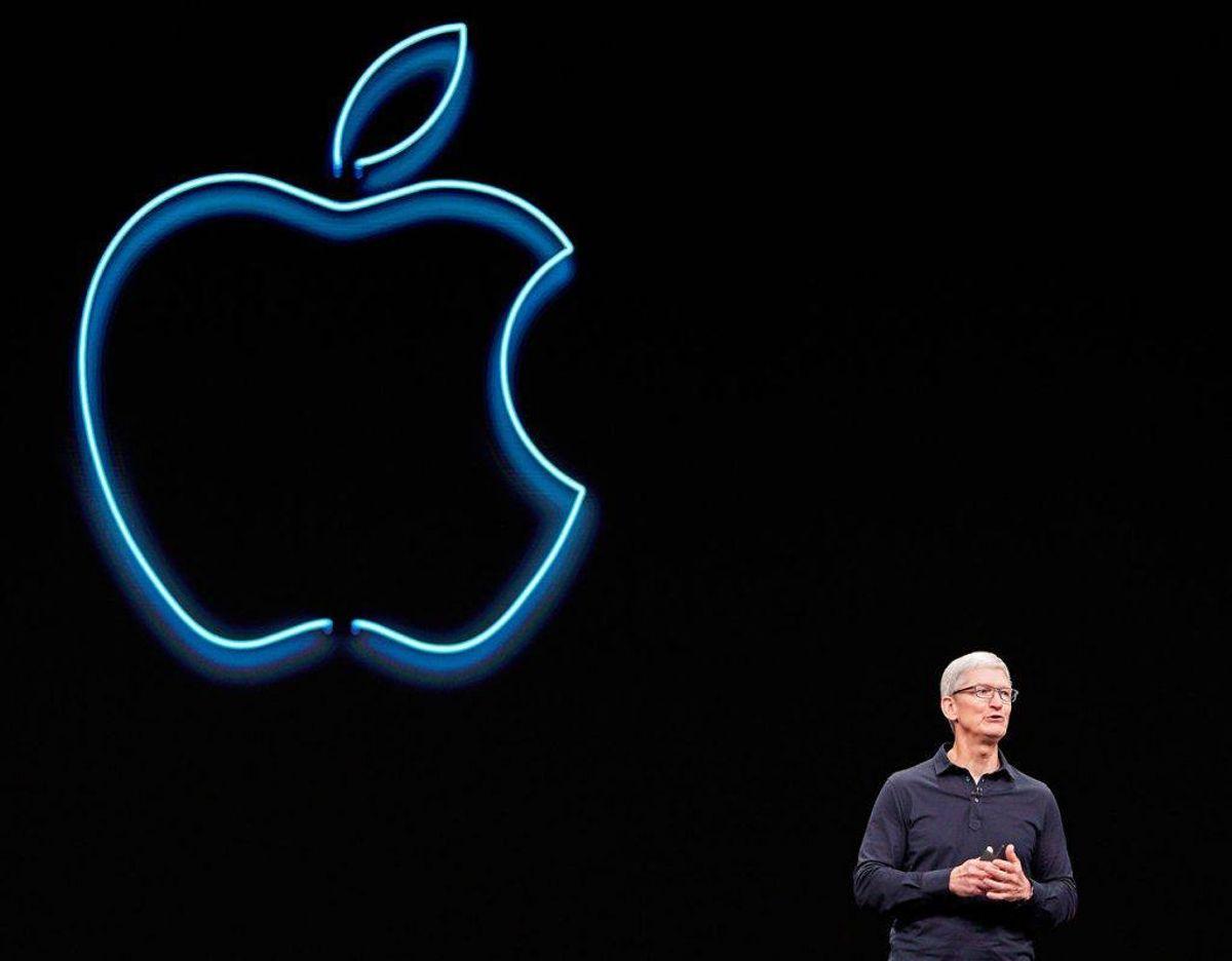 Tim Cook er chefen for Apple. Foto: Scanpix