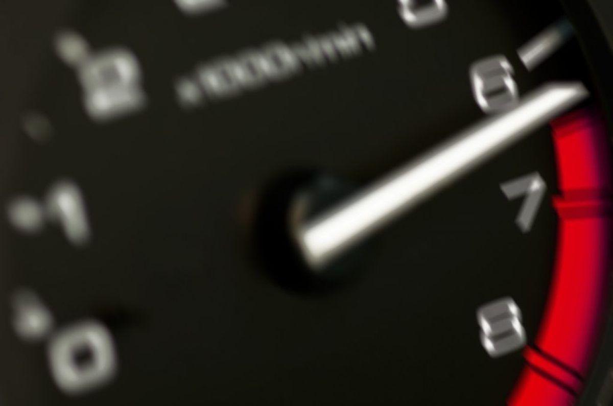 Og så skal man sænke farten ind i et kryds. Foto: Scanpix