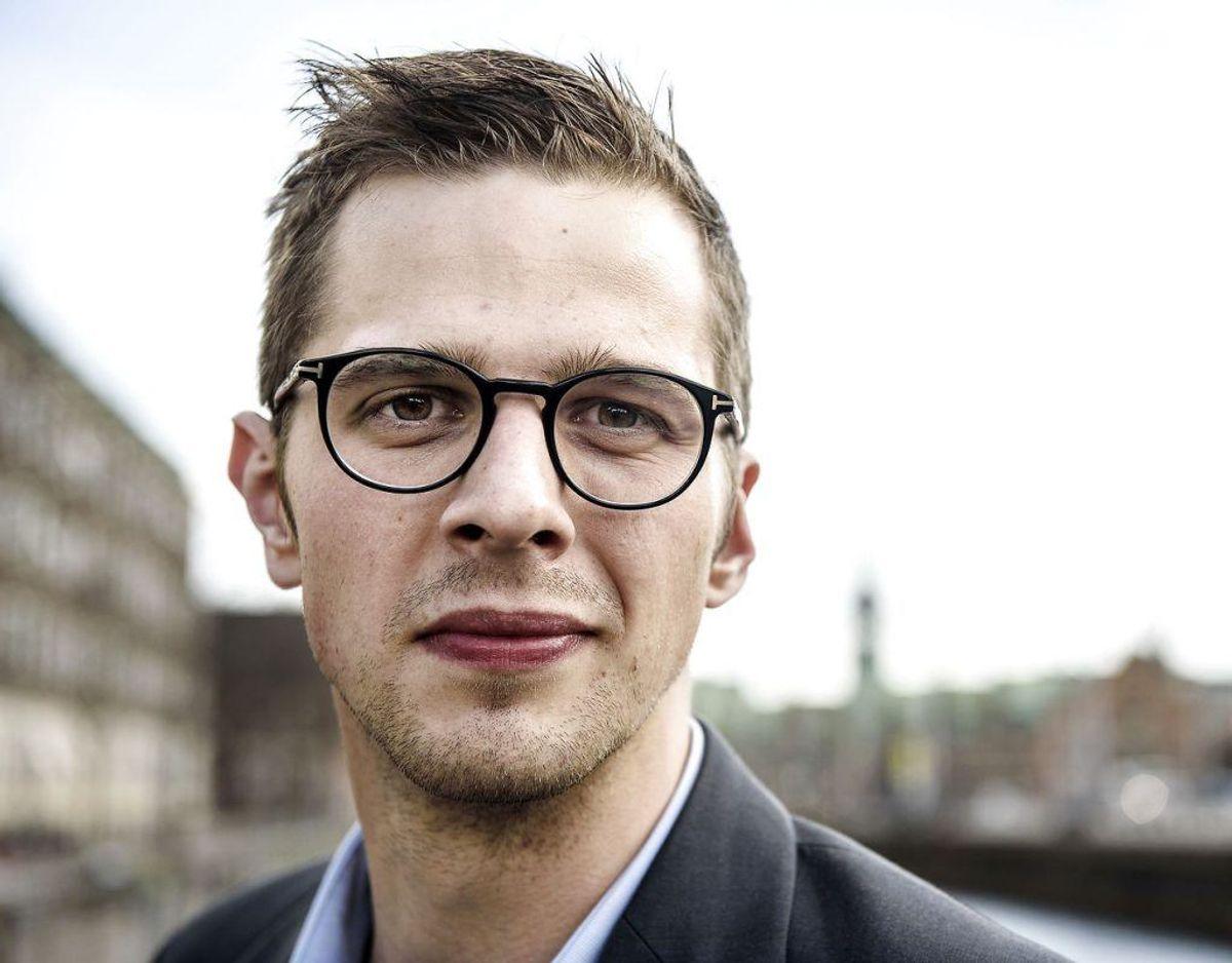 Alex Vanopslagh bliver ny politisk leder af Liberal Alliance i stedet for Anders Samuelsen. Foto: NIELS AHLMANN OLESEN/Ritzau Scanpix-