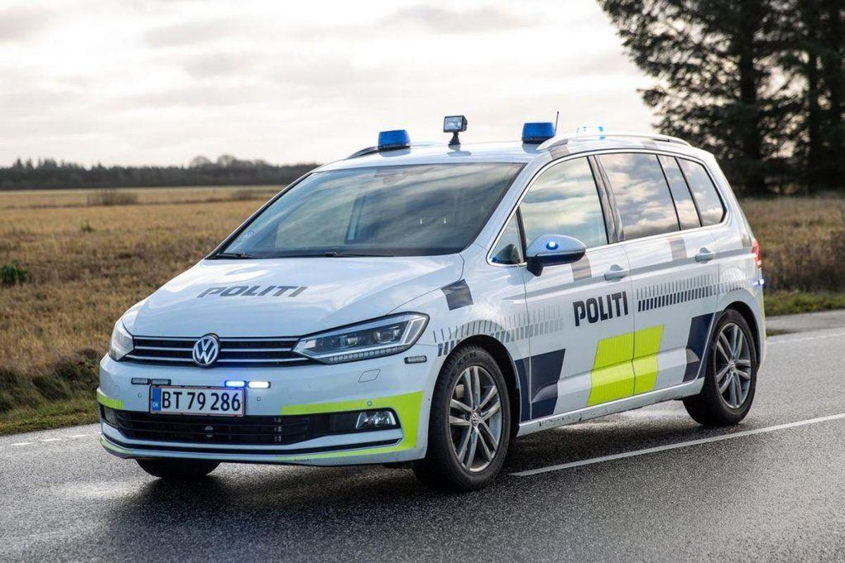 Politiet efterlyser to bedragere. KLIK VIDRE FOR BILLEDER OG BESKRIVELSE AF DE TO. Foto: René Lind Gammelmark