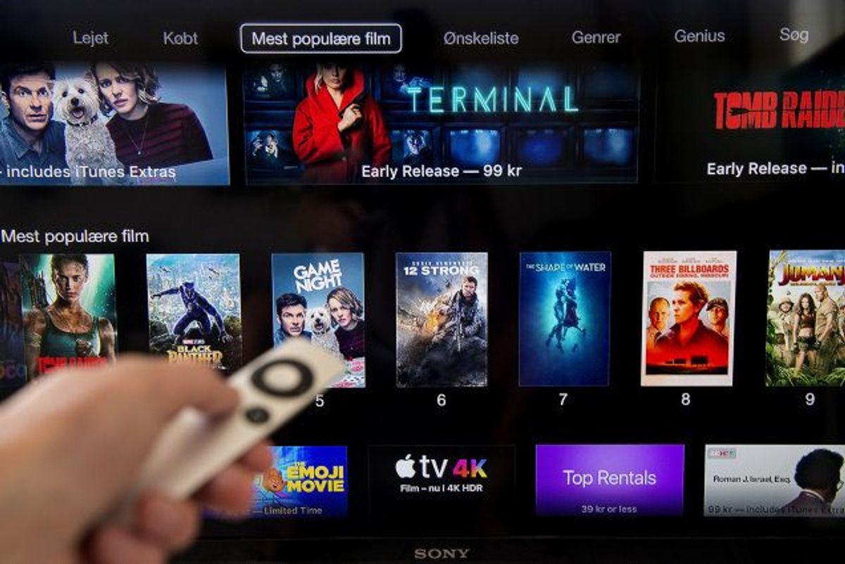 En af årsagerne til iTunes' udfasning menes at være, at tjenesten efter snart 20 år på markedet er blevet utidssvarende og klodset i flere forbrugeres øjne. (Arkivfoto) Foto: Liselotte Sabroe/Scanpix