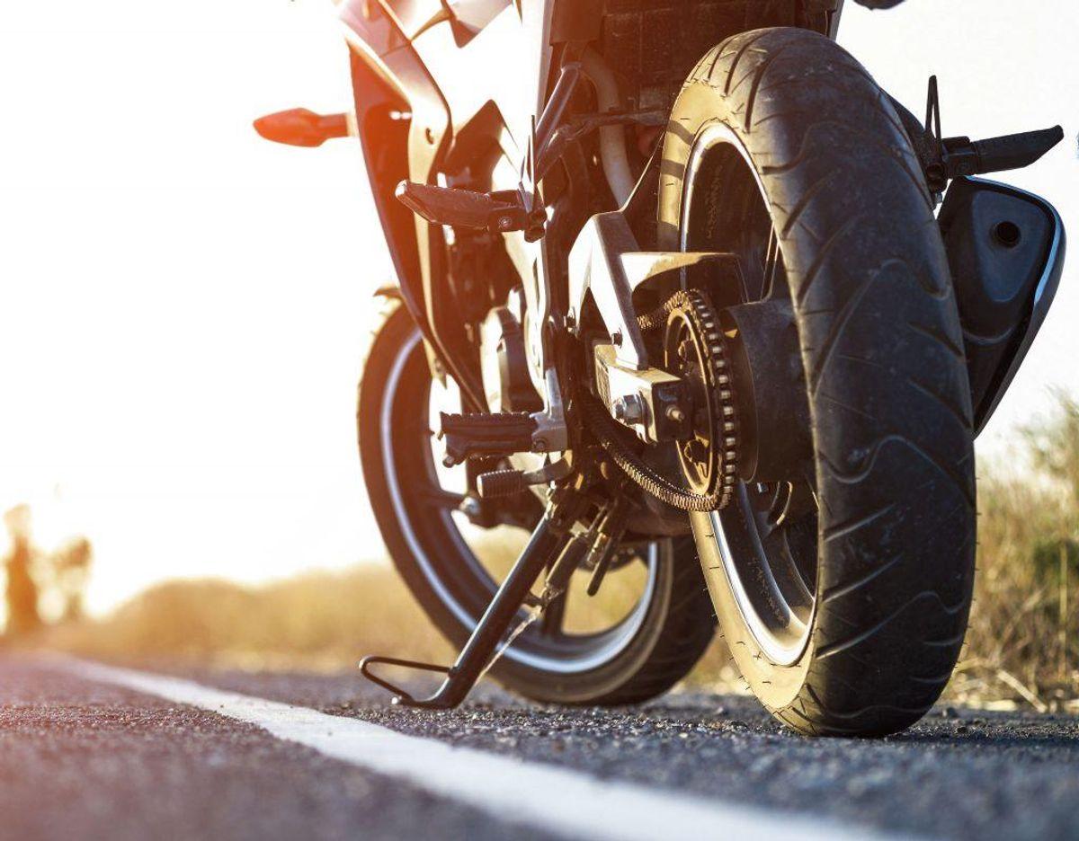 Ny-indregistrerede motorcykler skal have isntalleret ABS-bremser uanset motorcyklens alder. Det gælder kun for motorcykler, der ikke før har været registreret. Foto: Scanpix.