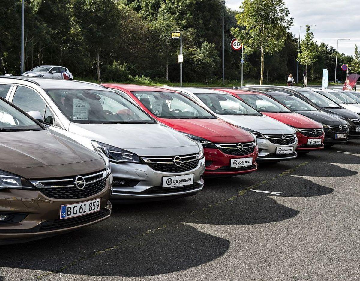 7/6: Blandt tyskerne er Opel værst med kun 847 points. Foto: Scanpix