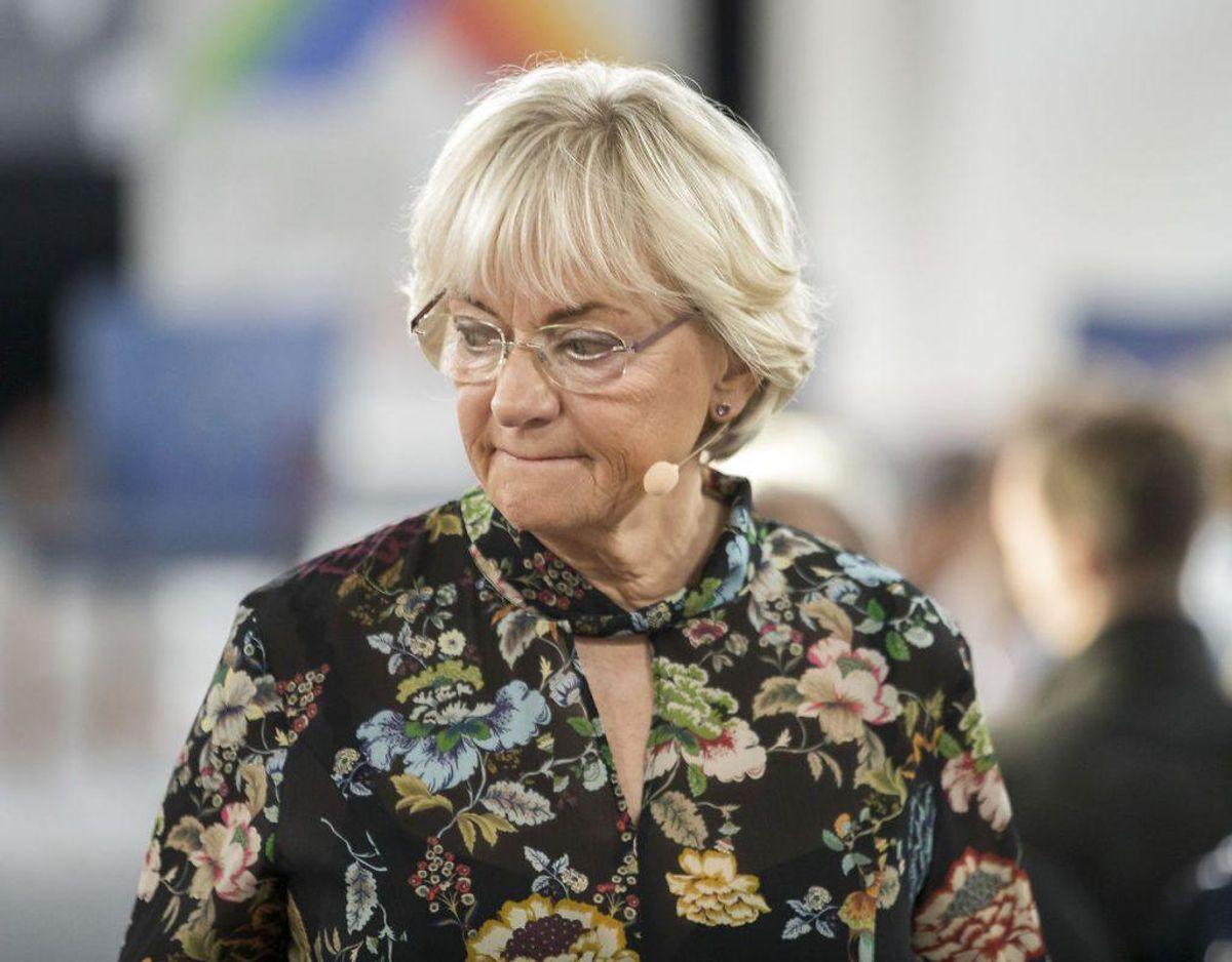 Pia Kjærsgaard er ikke imponeret over moderne Eurovision. Foto: Frank Cilius/Ritzau Scanpix