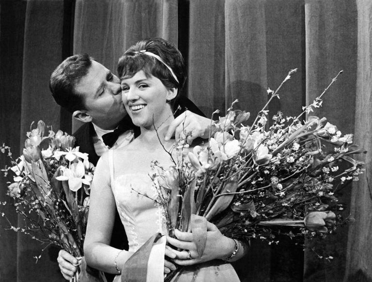 Grethe og Jørgen Ingmanns Dansevise gav Danmark sin første sejr nogensinde i Eurovision. Det skete i 1963. Foto: Scanpix