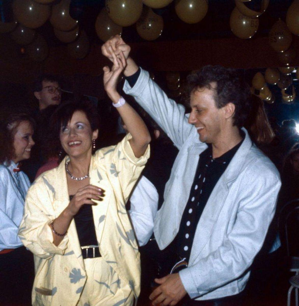"""Kirsten og Søren fik en tredjeplads tilbage i 1988 med """"Ka' du se hva' jeg sa'?""""."""