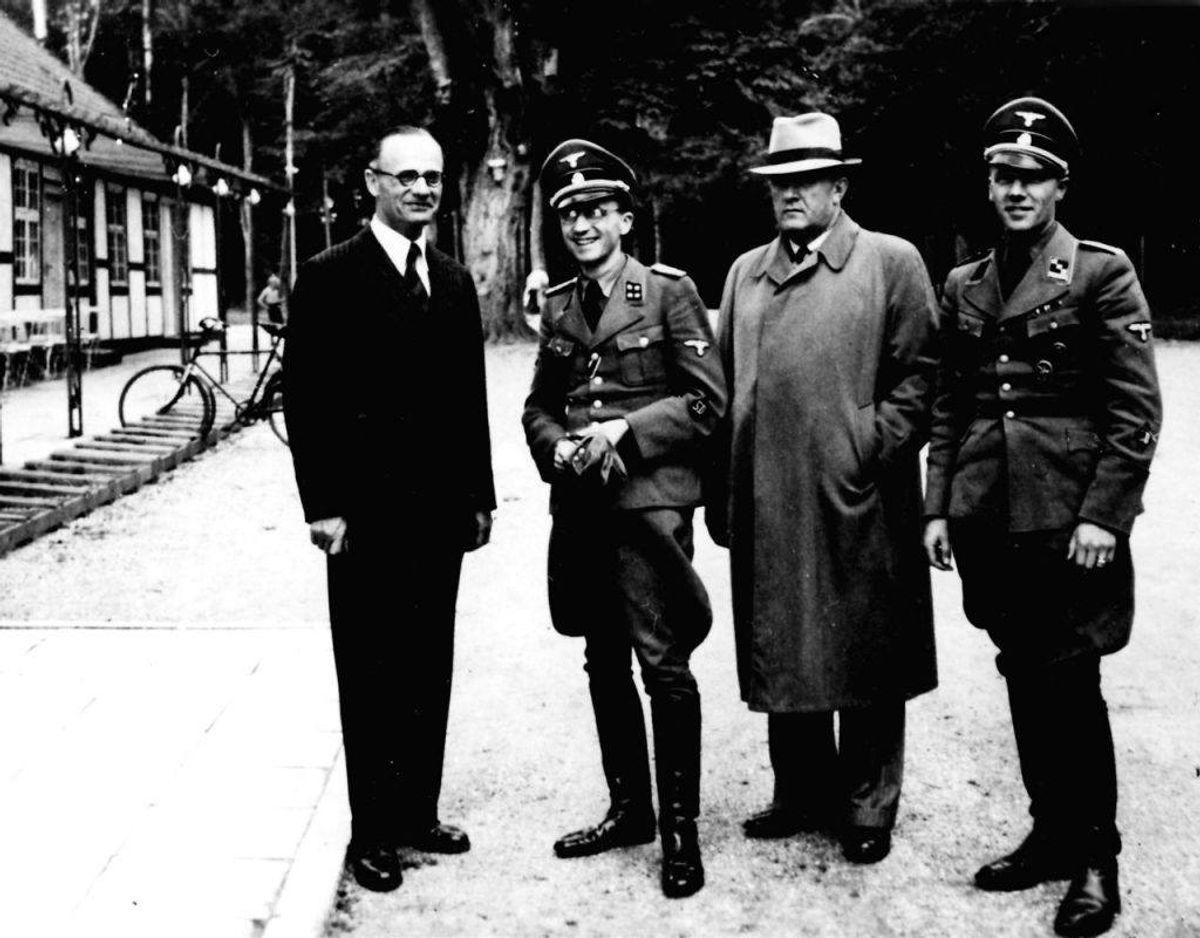 Hofjægermester Jørgen Sehested fik frataget sin titel i 1945. Hvorfor? Han blev dømt for at være landsforrædder under krigen, hvor han var lidt for vild med nazisterne. (Foto: Scanpix)