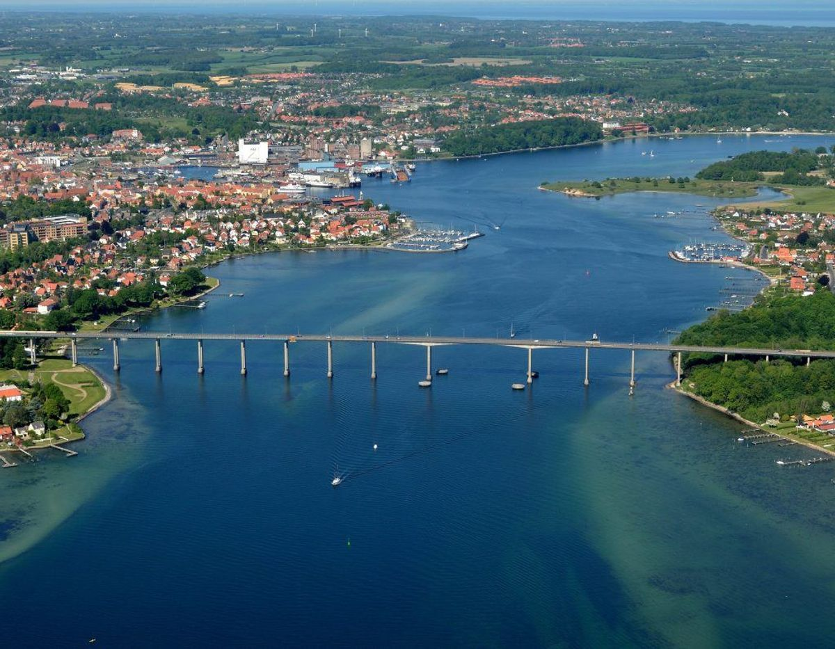 6. maj: Svendborg havn ved Otto Rudsvej – Kl 15:30 . Foto: Colourbox