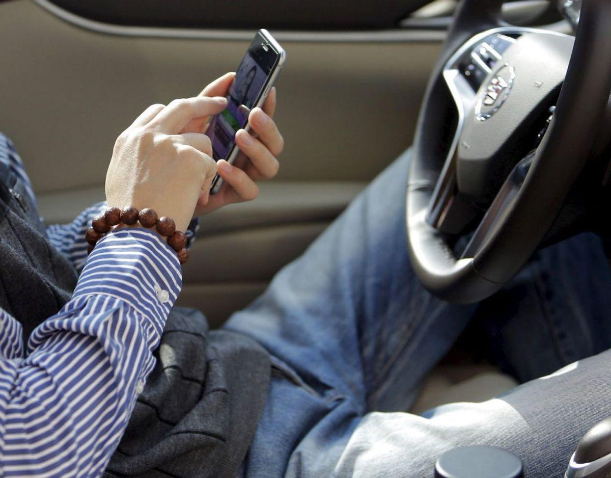 26 procent skriver sms, e-mail eller lignende. Foto: Scanpix
