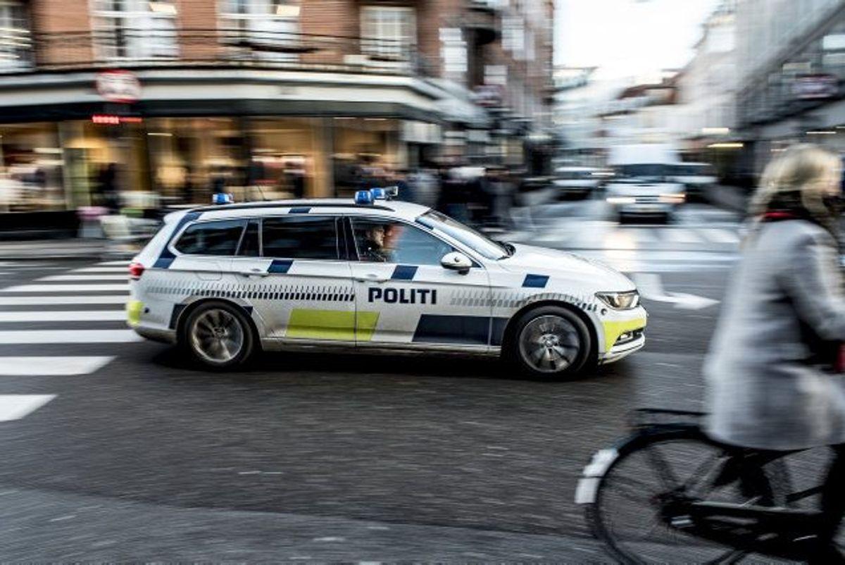 I alt er 49 kommet til skade eller blevet dræbt under politiets eftersættelser, viser ny kortlægning. (Arkivfoto). Foto: Mads Claus Rasmussen/Scanpix