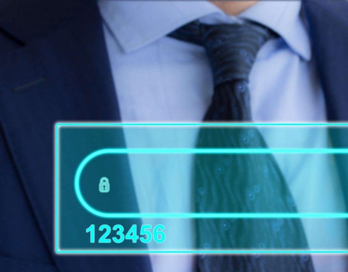 "23,2 millioner konti brugte ""123456"". Foto: Scanpix."