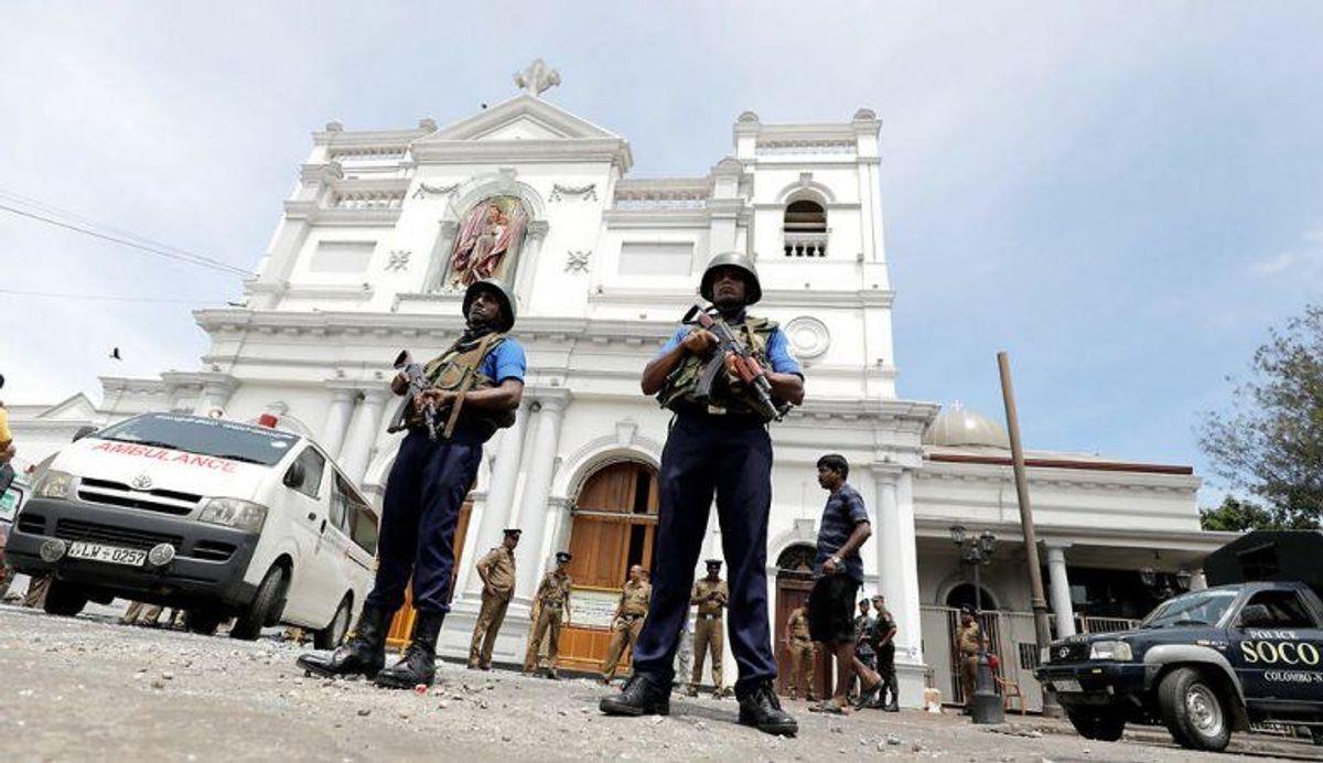 Sri Lanka er ramt af flere angreb. KLIK VIDERE OG SE FLERE BILLEDER. Foto: Scanpix