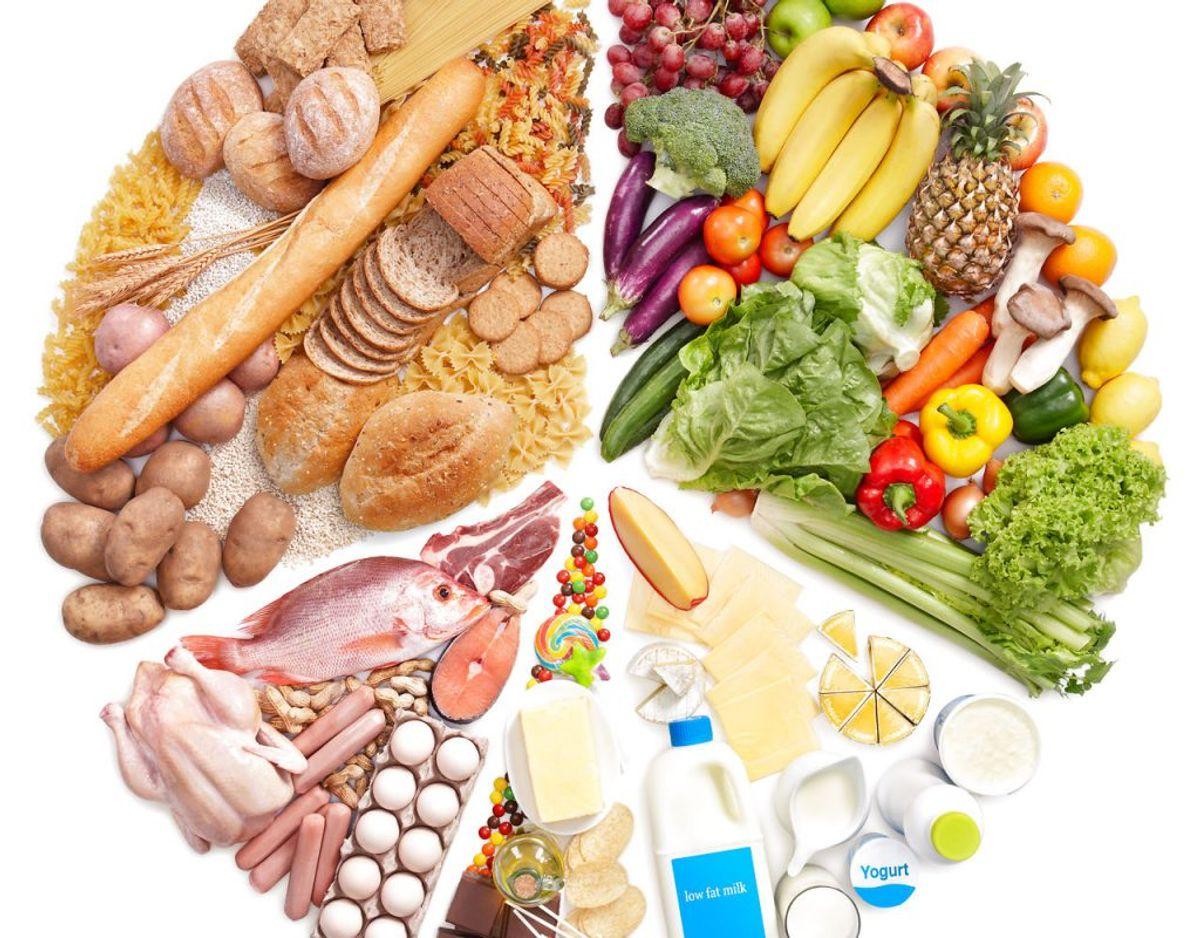 Følg de officielle kostråd. Spis varieret, ikke for meget, og vær fysisk aktiv. Spis frugt og mange grønsager. Spis mere fisk. Vælg fuldkorn. Vælg magert kød og kødpålæg. Vælg magre mejeriprodukter. Spis mindre mættet fedt. Spis mad med mindre salt. Spis mindre sukker. Drik vand. Varier din kost, og spis mange forskellige fødevarer hver dag.