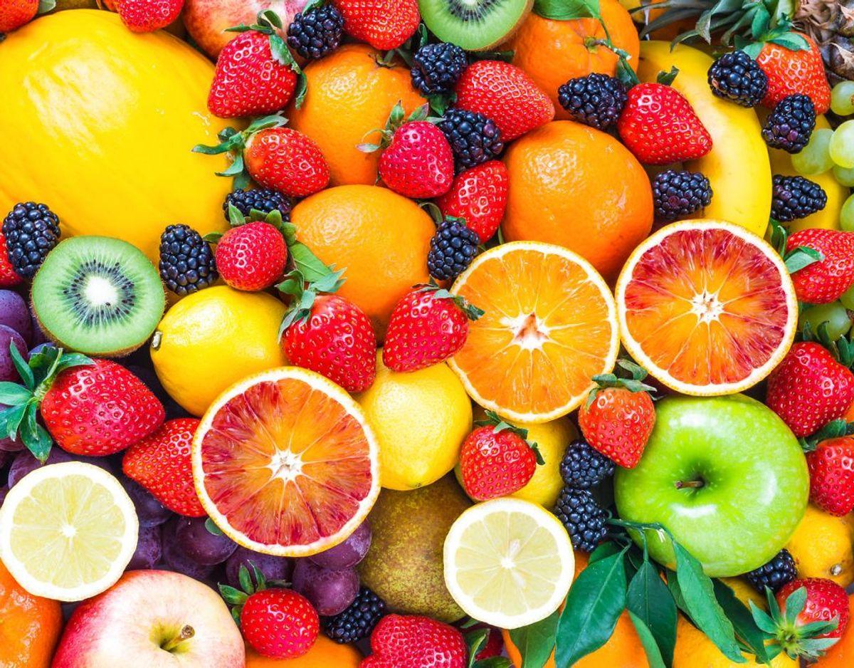 Spis masser af frugt og grønt, men skyl det, så indhold af bly og eventuelle pesticidrester mindskes.