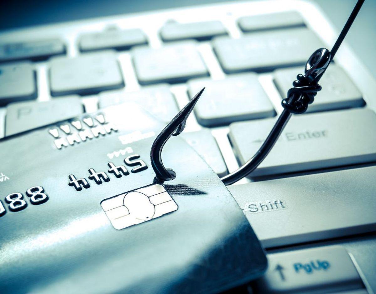 Phishing kommer i mange former, men mange af fupbeskederne minder alligevel om hinanden. Klik igennem galleriet og se række eksempler på phishing-beskeder. Foto: Scanpix