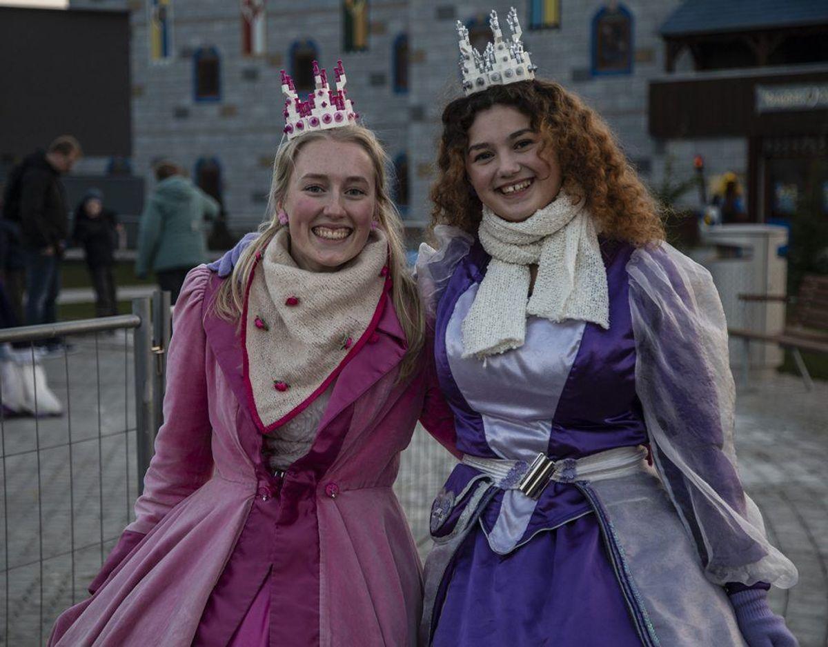 Legoland parkens egne prinsesser var der selvfølgelig også. Foto: René Lind Gammelmark