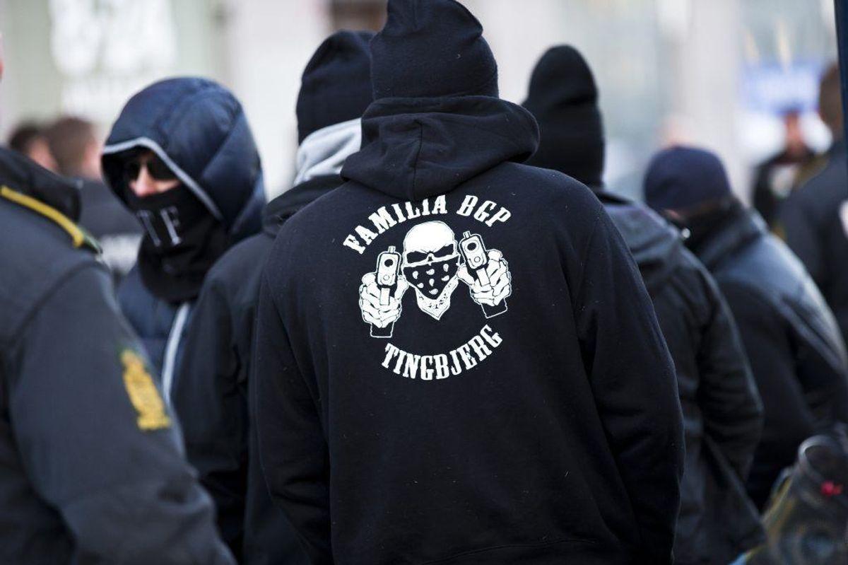 Et bandemedlem blev løsladt midt i en omfattende sag. Hans forsvarer kræver erstatning på over en million kroner. Foto: Scanpix.