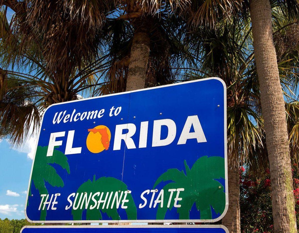 Florida man er ikke verdens mest vanvittige mand. Det er en række vanvittige fortællinger om mænd fra Florida. Foto: Scanpix.