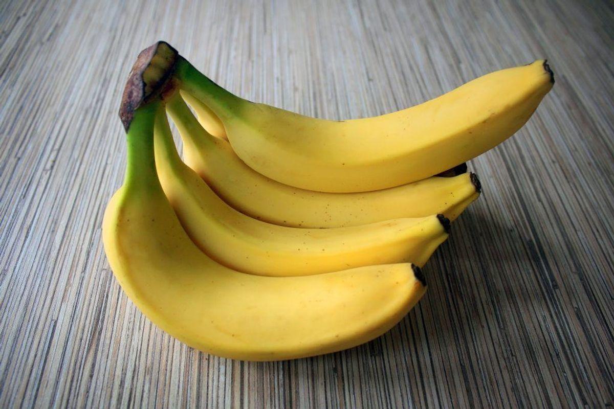 Om muligt skal bananer opbevares ved mellem 12 og 15 grader. (Foto: Shutterstock)
