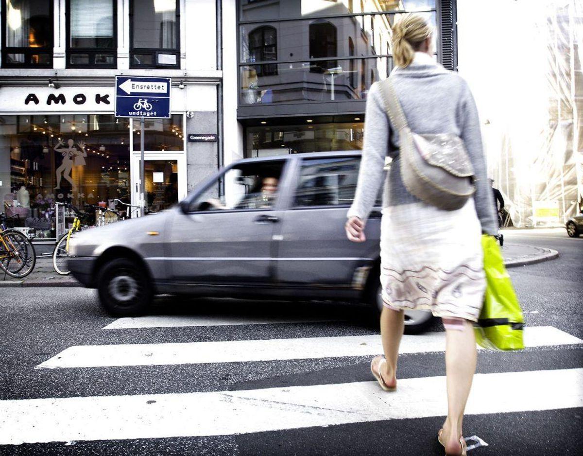 Det er ikke alle, der har helt styr på, hvordan man må køre. Genrefoto: Scanpix