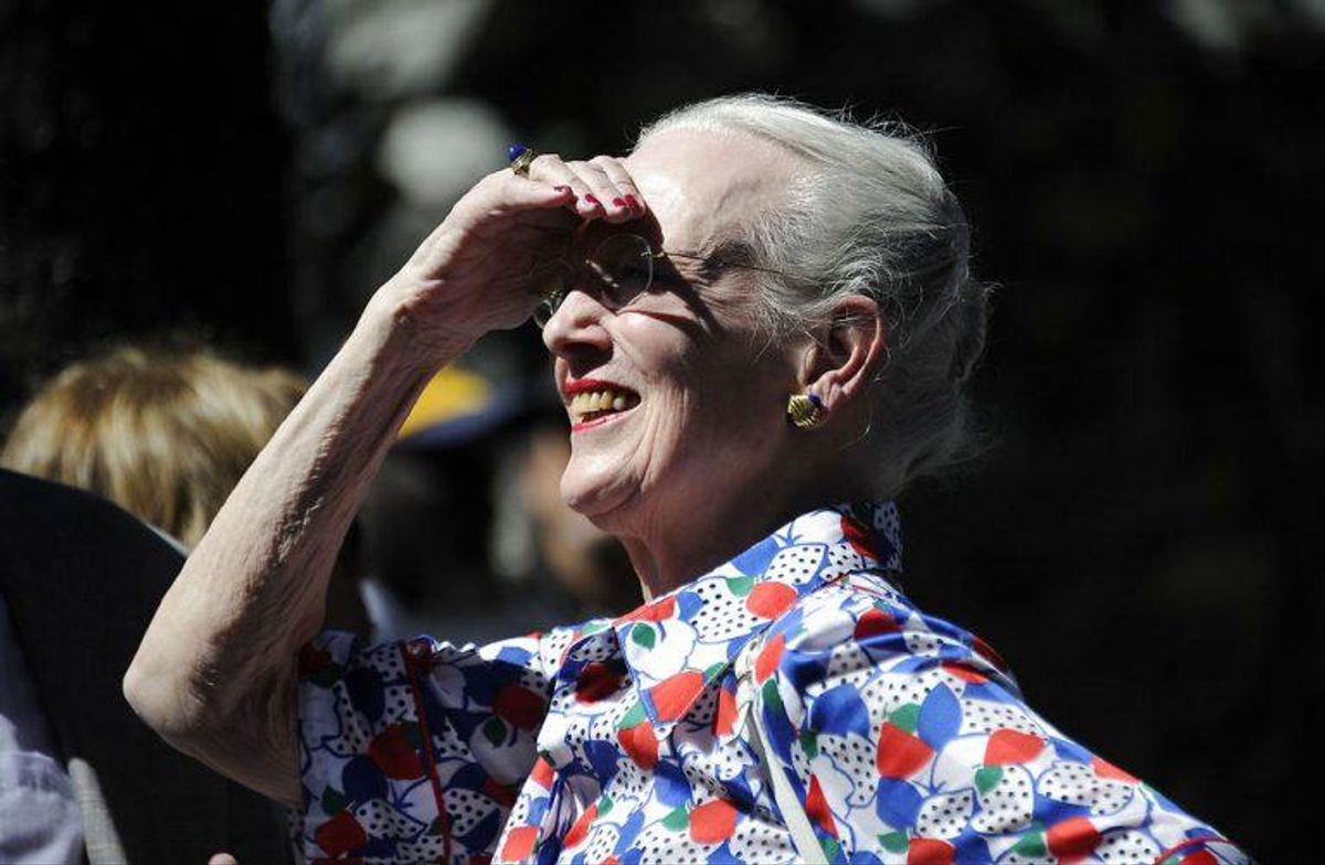SPECIAL SCANPIX The Danish Queen Margarethe II visits the Recoleta Cemeter. There the queen visits the tomb of the famous Danish doctor Carlos Fürst. city of Buenos Aires on March 17, 2019.. (Foto: JAVIER GONZALEZ TOLEDO/Ritzau Scanpix)