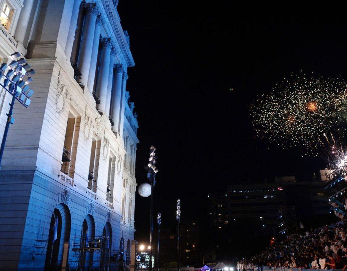 En del arrangementer – heriblandt en større messe også med danske stande – holdes på Kirchner Cultural Centre. Foto: Scanpix