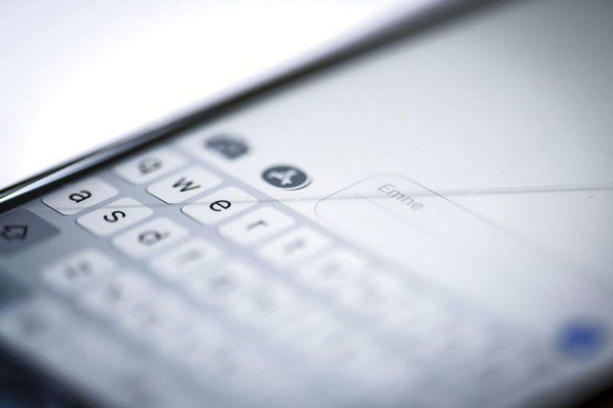 Gå til indstillinger på din iPhone. Her åbner du 'Anonymitet'. Foto: Scanpix
