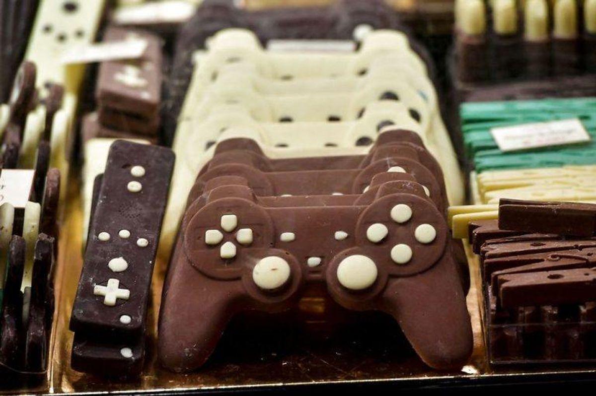 Tag en forunderlig rejse og se, hvad chokolade kan forestille og være. KLIK VIDERE OG SE FLERE BILLEDER. Foto: Scanpix