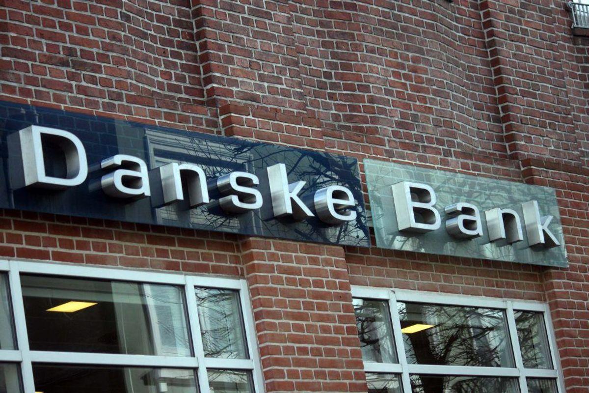 Danskerne flygter fra især Danske Bank og over til mindre. KLIK og se, hvilke der har haft fremgang. Måske du vil skifte? Foto: Elo Christoffersen.