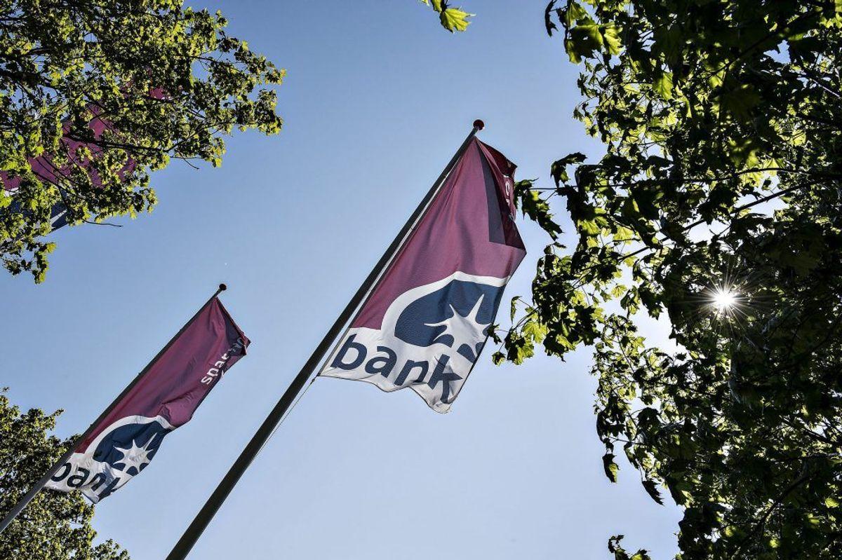 Spar Nord Bank, hovedsæde på Skelagervej i Aalborg. 2.504 nye kunder her. Foto: Henning Bagger/Scanpix.
