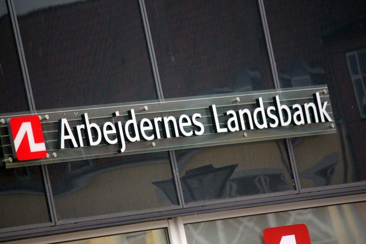 Arbejdernes Landsbank er den absolutte topscorer med 13.656 nye kunder. Foto: Elo Christoffersen.