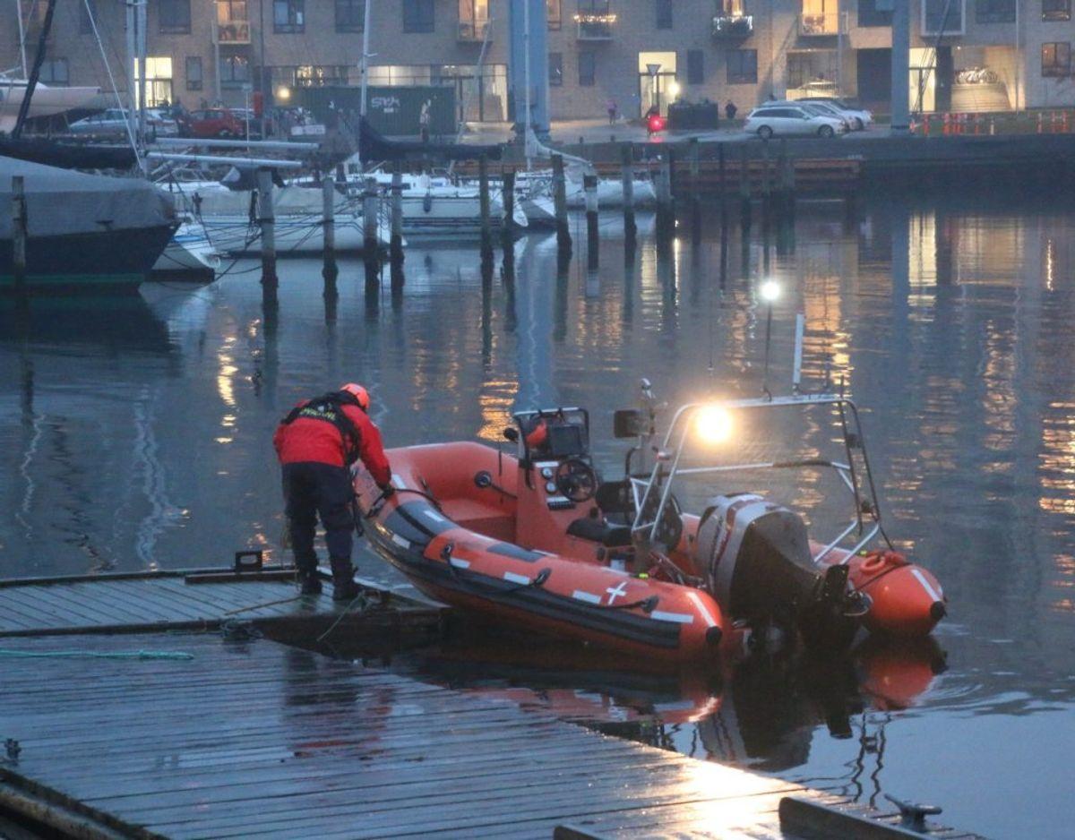 Myndighederne har også left efter Steffen. Foto: Øxenholt Foto.