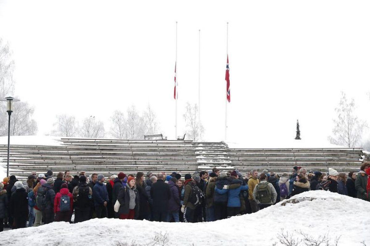 Maren Ueland og Louisa Vesterager Jespersen blev i starten af januar mindet på deres norske universitet. (Foto: Scanpix)