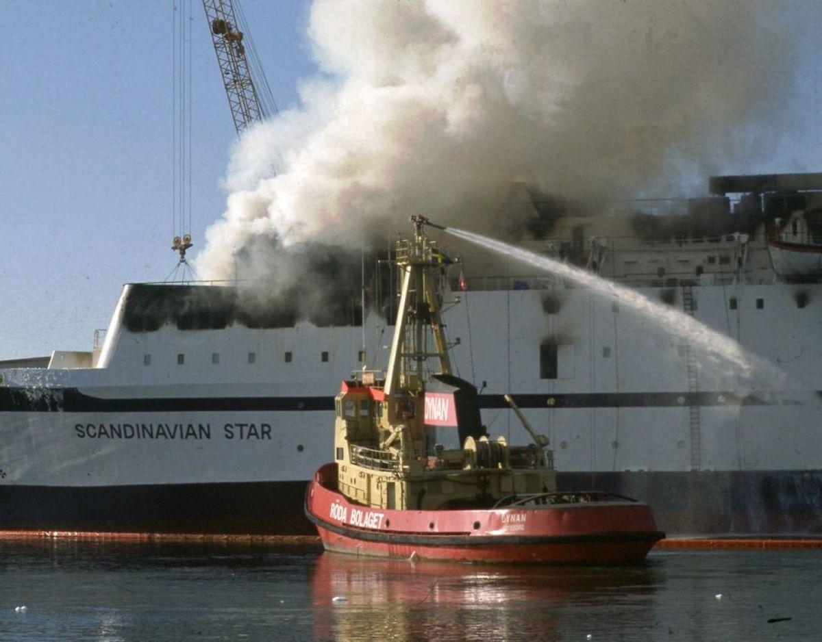 Den katastrofale brand kostede flere mennesker livet. Foto: Scanpix.