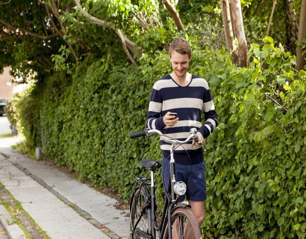 Det er sæson for cykellygter. Og der er mange ting, du skal huske. KLIK FOR AT SE DE (STRENGE) REGLER FOR LYS PÅ CYKLEN Foto: Colourbox