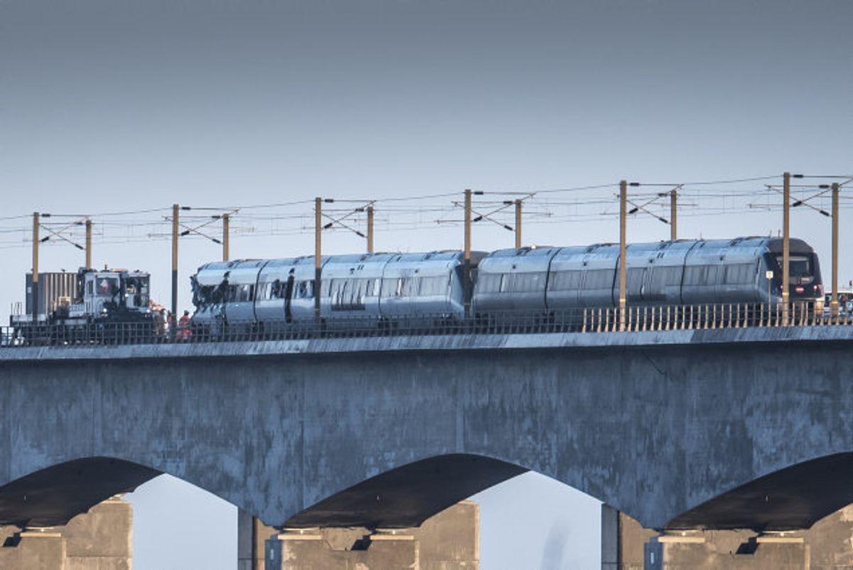 En af de omkomne fra onsdagens togulykke på Storebæltsbroen er den 30-årige nordjyde Kasper Brix Bærndt, der var bosat i Grønland. Foto: Mads Claus Rasmussen/Scanpix
