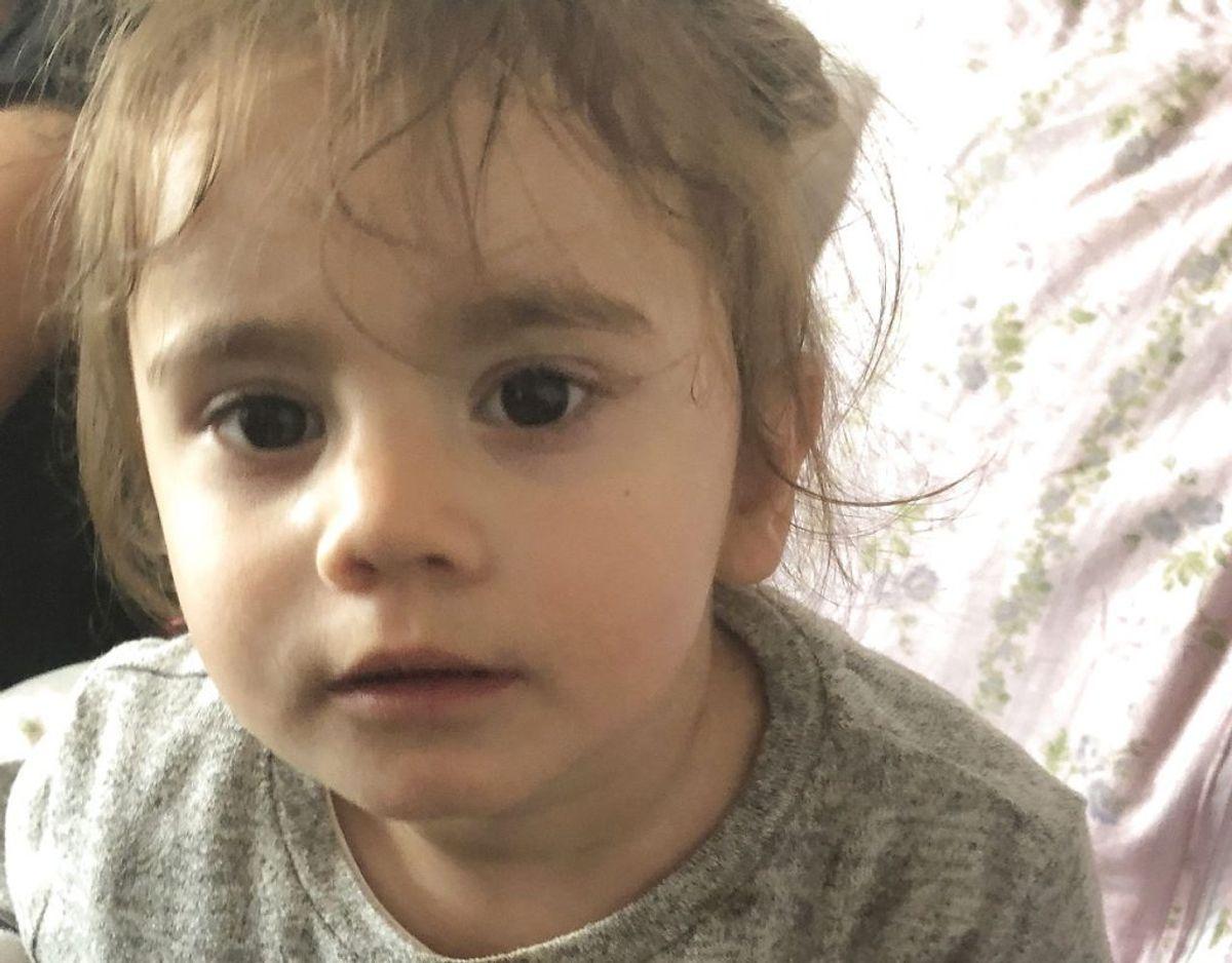 17 måneder gamle Maria blev kidnappet søndag. Først fire timer senere blev hun fundet igen.