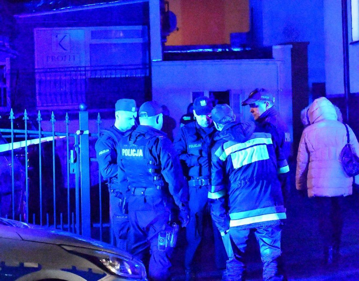 Fem piger har mistet livet under en brand i et såkaldt escape-room i Polen. Foto: MARCIN BIELECKI/Scanpix.