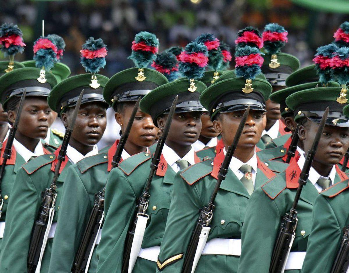 """Nigeria. Alle rejser frarådes til Nordlige og nordøstlige delstater Adamawa, Borno, Yobe, Gombe, Taraba, Plateau, Bauchi, Jigawa, Kano, Katsina, Kaduna, Zamfora, Sokoto, Kebbi, Niger og Kogi. Sydøstlige delstater Abia, Bayelsa, Delta, Akwa Ibom, Rivers og Cross Rivers – og alle ikke-nødvendige rejser frarådes i resten af landet. Det skyldes ifølge UM.dk: """"høj risiko for terrorangreb, voldelig kriminalitet og kidnapninger. Risiciene er så alvorlige, at du bør have helt særlige grunde til at besøge landet."""" Foto: Scanpix"""
